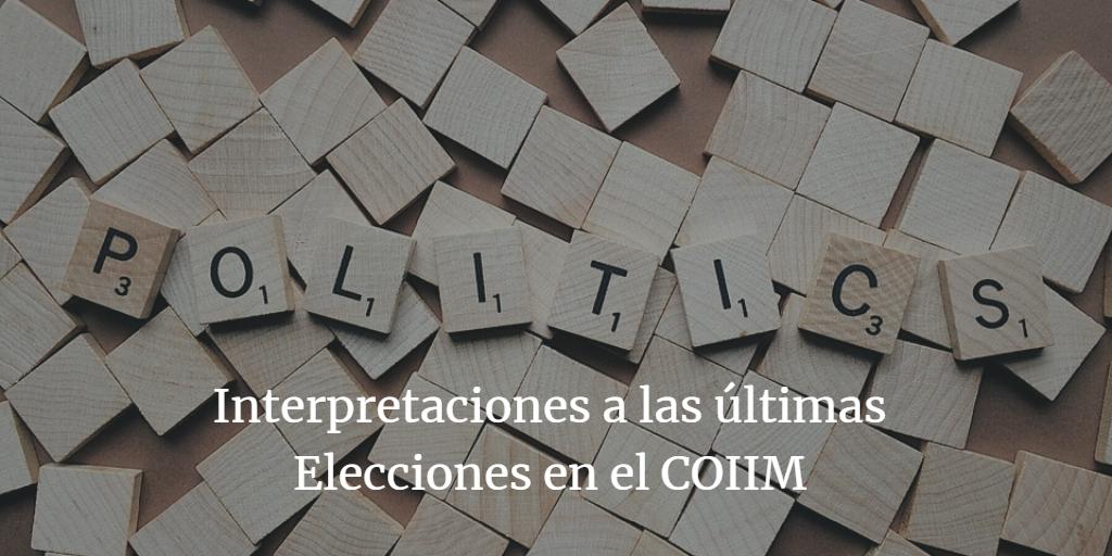 Elecciones COIIM